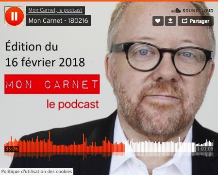 Mon Carnet - Le podcast - Bruno Guglielminetti