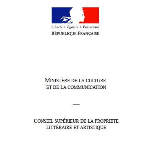 Rapport du Ministère de la culture de France sur la Blockchain